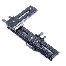 LP-01+LP-02 4 way Macro Shot Focusing Focus Rail Slider for