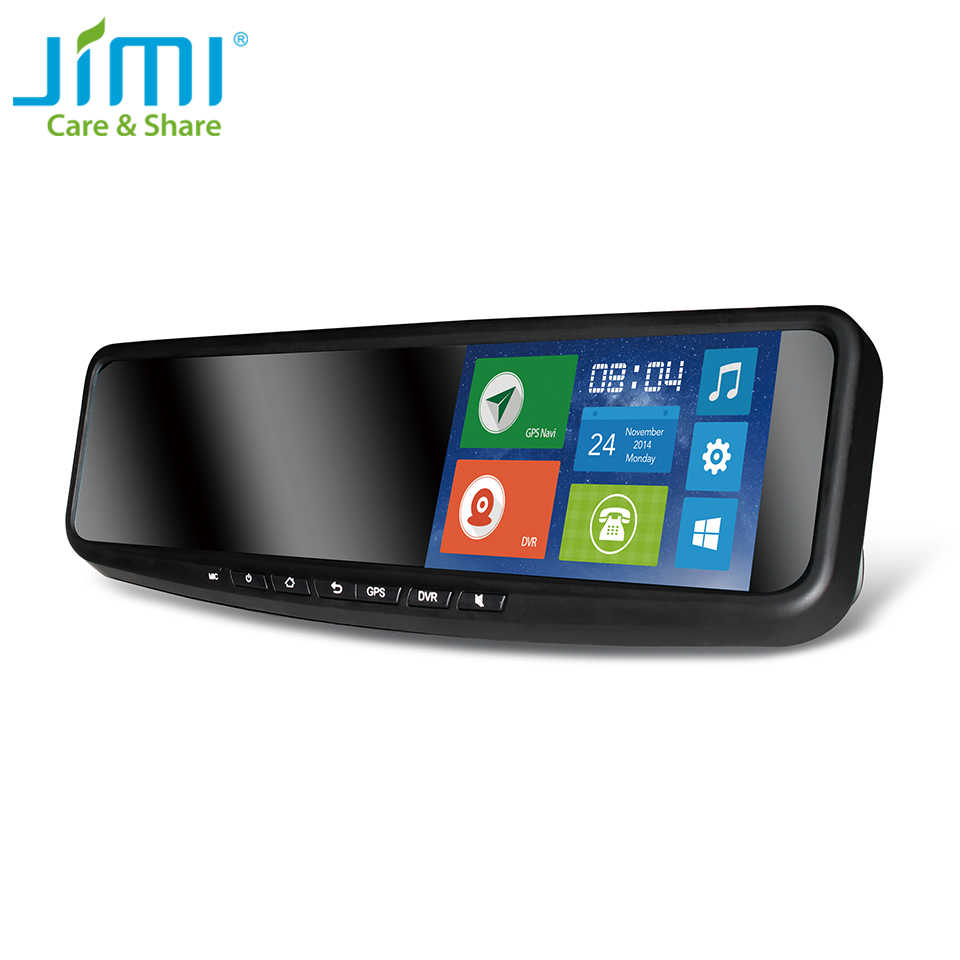 JC600 (2G) auto Dash DVR Smart Auto Camera Voor 5 Inch Touch Screen Spiegel Monitor GPS Navigatie GPS Tracker En Android APP systeem