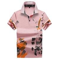 Streetwear 2019 Plus Size Short Sleeve Men Polo Shirt Cotton Print Steampunk Polo Shirts Funny Halloween Ropa Para Hombre Casual