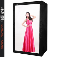LED professional clothing portrait photography studio Softboxes box 200CM photo equipment Photo Continuous Light box CD50