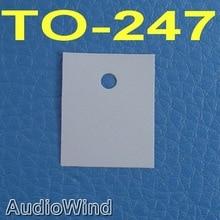 ( 1000 pcs/lot ) TO-247 Transistor Silicon Insulator,Insulation sheet.