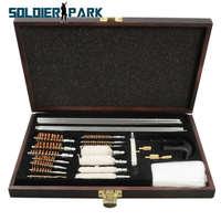 Portable 28Pcs Set Outdoor Military Hunting Gun Accessories Rifle Cleaning Kits Tactical Shotgun Pistol Barrel Tube