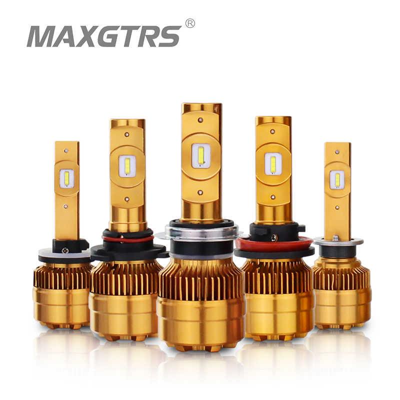 MAXGTRS Car Headlight H1 H3 H4 H7 LED H8/H11 H16(JP) 9005 9006 880 881 Auto Bulb Headlamp 6000K Light Fog Lights Driving Lamps