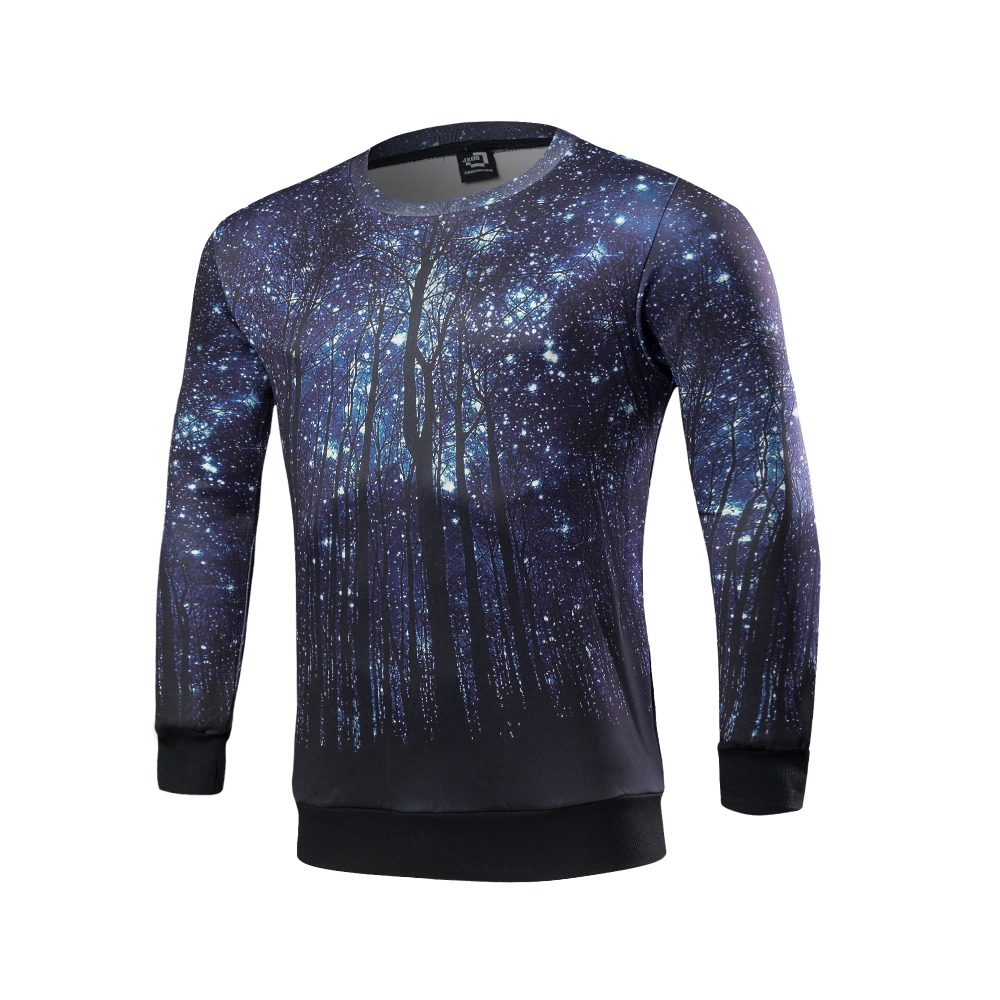 New men's leisure brand fleece qiu dong O - neck men long sleeve with high quality