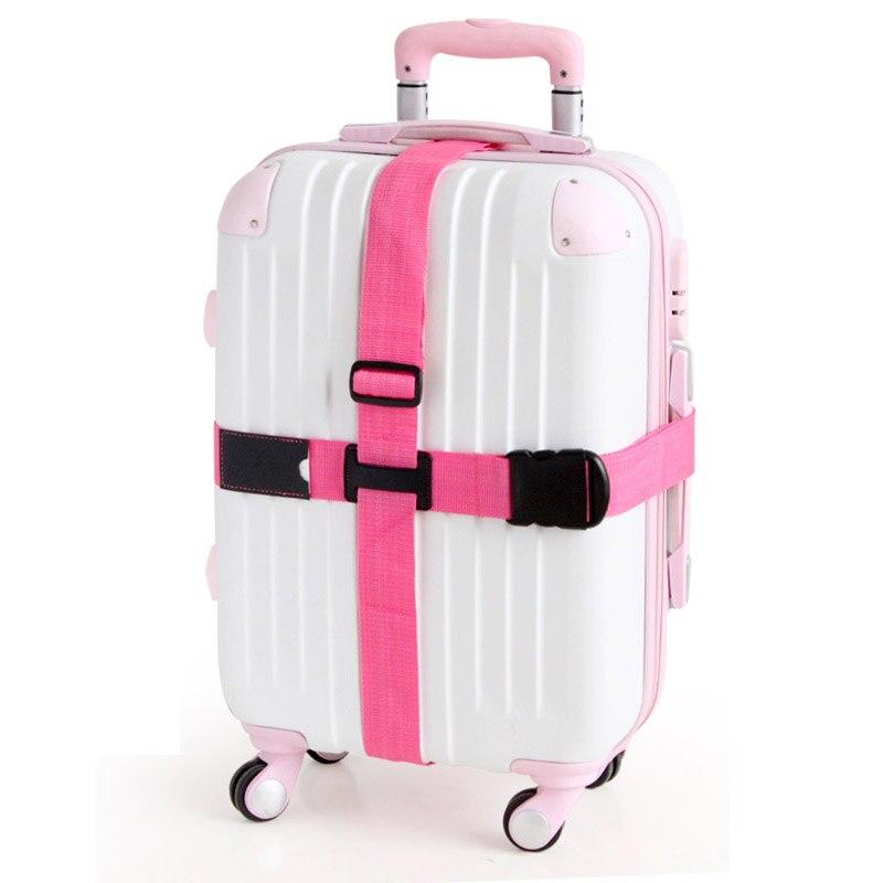 Регулируемая Нейлон Путешествия Чемодан Бретели для нижнего белья пояс тележка защитный Туристические товары чемодан упаковка ремень