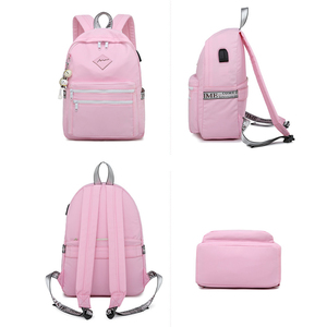 Image 2 - WINNER 2018 New Korean Version USB Backpack Women Anti Theft School  Travel Backpack Small Fresh Laptop School Bags Men Zaino