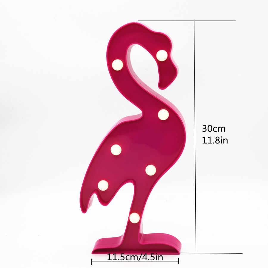 Светодиодный Сказочный свет луна облако Новинка 3D лампа фламинго, кактус звезда ночник Ангел дерево для детей подарок для украшения в помещении