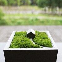 Silicone Molds Concrete Moss Mini Small House Muti Meat Flower Planter Mould Desktop Decoration Cement Mold