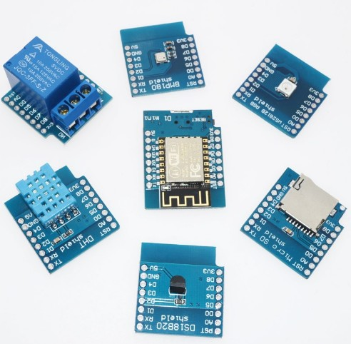 D1 mini kit Mini NodeMcu 4M bytes Lua WIFI Internet of Things development board based ESP8266 by WeMos
