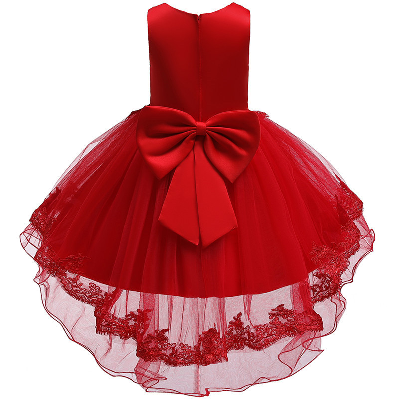 HTB1o4tGe2WG3KVjSZPcq6zkbXXa4 - Kids Princess Dresses For Girls Clothing Flower Party Girls Dress Elegant Wedding Dress For Girl Clothes 3 4 6 8 10 12 14 Years