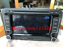 Original car Navigation RNS510 radio LED display modules for VW Golf Passat Skoda RNS510 DVD Player 3CD 035 682 A  3CD035682 B