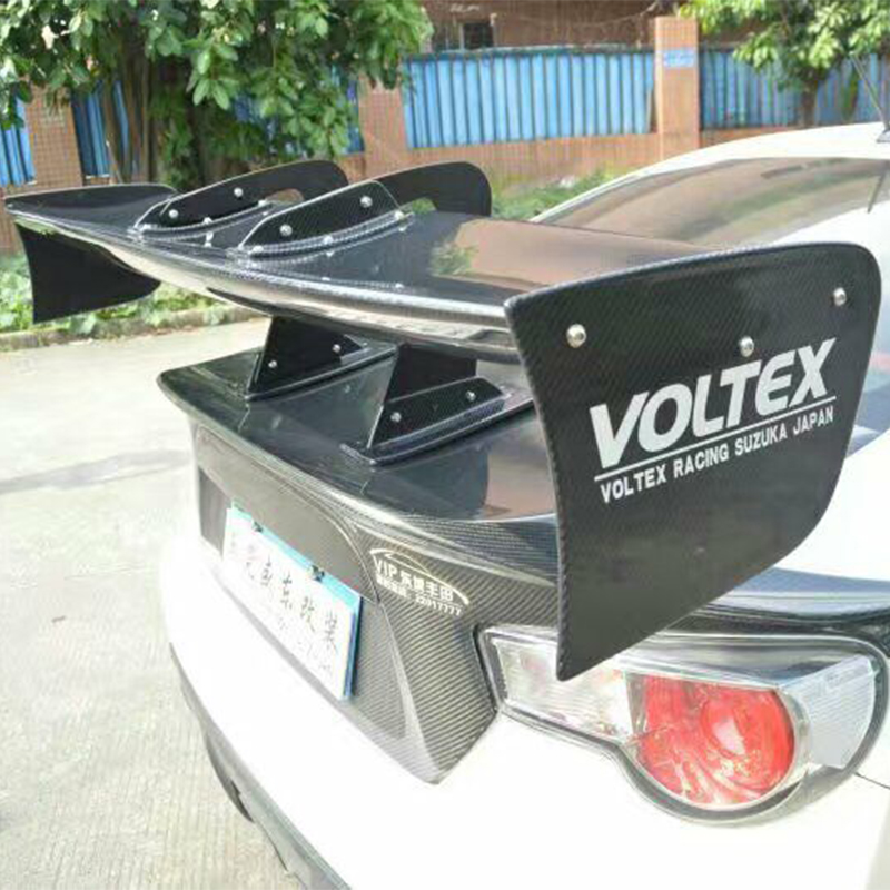 Voltex Style Car Rear Trunk Spoiler Wing for GT86 BRZ 350Z 370Z lancer