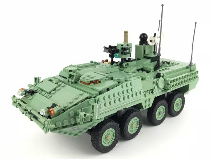 Hot Sale Stryker M1128 MGS Compatible Military Building Block Bricks Figures Set Brand New Educational Toys for Boys hot sale ir educational interactive digital whiteboard