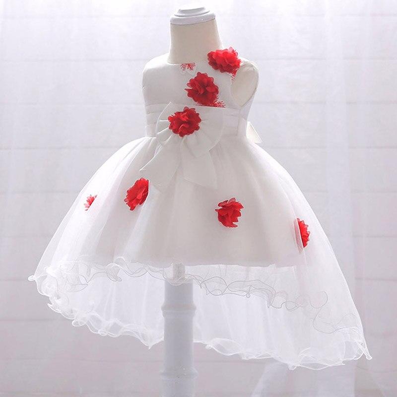 Hot   flower   baby   dress     girl     dress   newborn summer princess ball gown fluffy costume first communion   dresses   baptism vestido