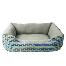 Soft Dog Beds lattice Print Pets House Cartoon Style Puppy Dogs Beds For Small Pets Cats House