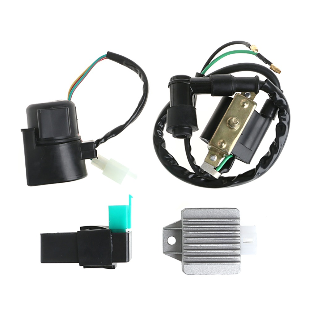 Regulator Rectifier Relay Ignition Coil CDI Chinese ATV Quad 110cc 125cc
