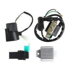Regulador Rectificador Relé Bobina De Encendido CDI Chino ATV Quad 110cc a 125cc
