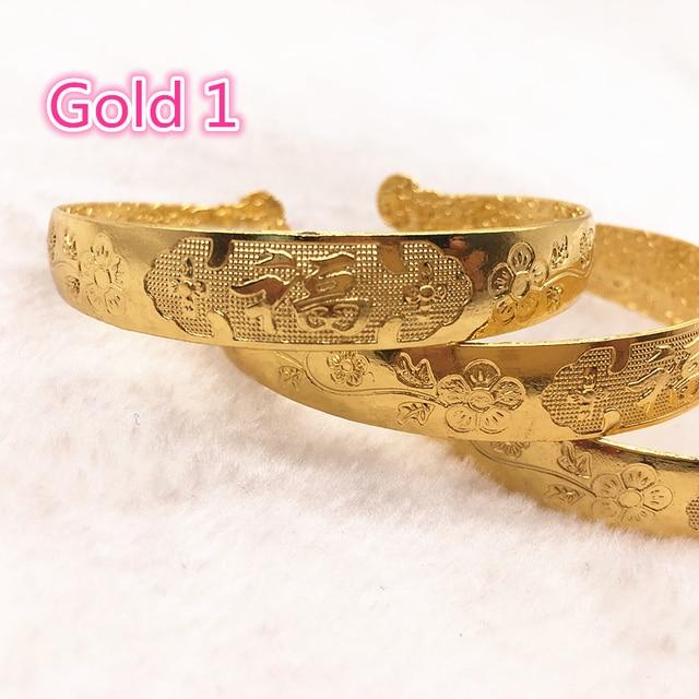 1 יח'\חבילה סגסוגת מותאם זהב/כסף ציפוי צמיד בציר צמיד עבור ואגלי קסמי DIY תכשיטים
