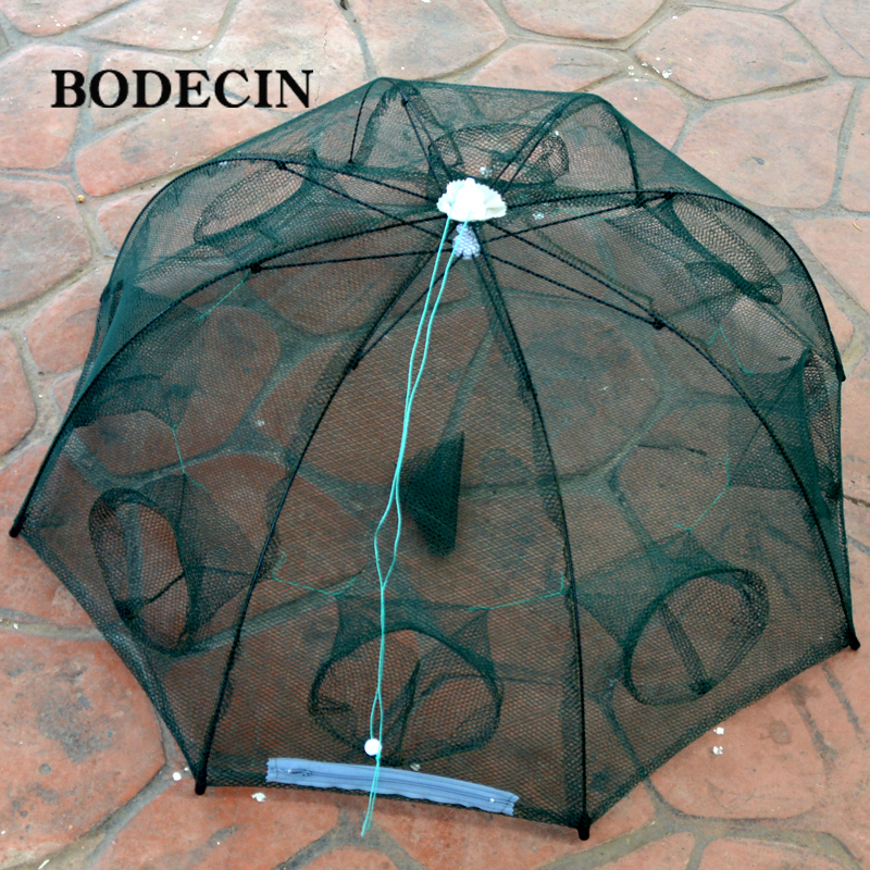 Cheap Fishing Net 8 Holes Hexagon Throwing Cast Nets Casting Crayfish China Cages Cheap For Cast Mesh Catcher Trap Fish Network