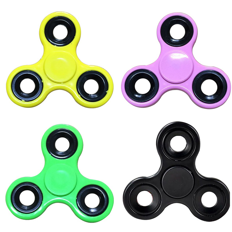Finger Spinner Fidget ABS EDC Hand Spinner For Autism and ADHD Anxiety Stress Relief Focus Fidget Spinner Kids Toys