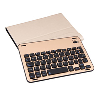 Removable Bluetooth Wireless Keyboard Leather Case Cover Magnetic Charging Cable For IPad Mini 4 Tablet Device