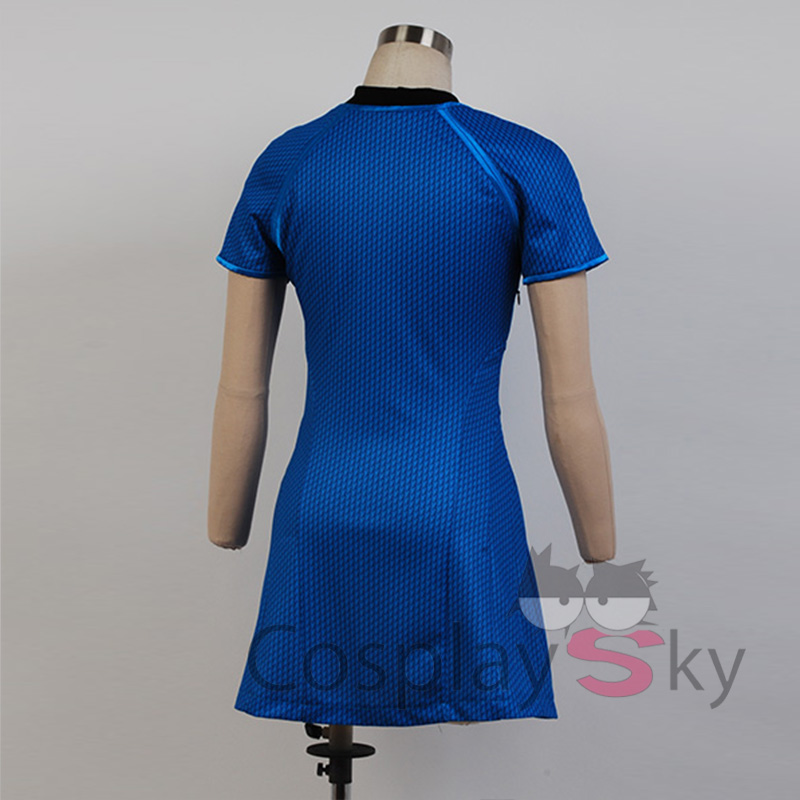 STAR TREK Carol Marcus Cospaly Costume Halloween Uniform Dress-in Boys Costumes from Novelty u0026 Special Use on Aliexpress.com | Alibaba Group & STAR TREK Carol Marcus Cospaly Costume Halloween Uniform Dress-in ...