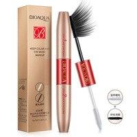 Double Head Mascara Waterproof Makeup Extension Length Long Curling Eyelash Makeup Black Mascara Eye Lashes Make