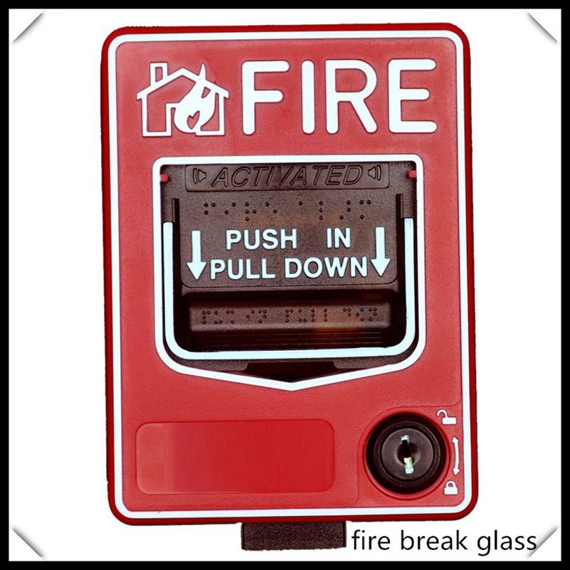 Fire Alarm Emergency Reset Button Manual Call Point Dc24v Pull Down Station For Conventional Fire Alarm System