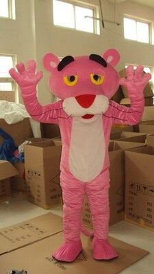 Panthère rose mascotte Costume léopard fantaisie carnaval mascotte fête jour adulte poupée vêtements chaud personnage de dessin animé livraison gratuite