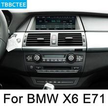 цена на For BMW X6 E71 2011~2014 CIC multimedia player Android Car radio GPS Navigation Map HD screen WiFi BT Bluetooth
