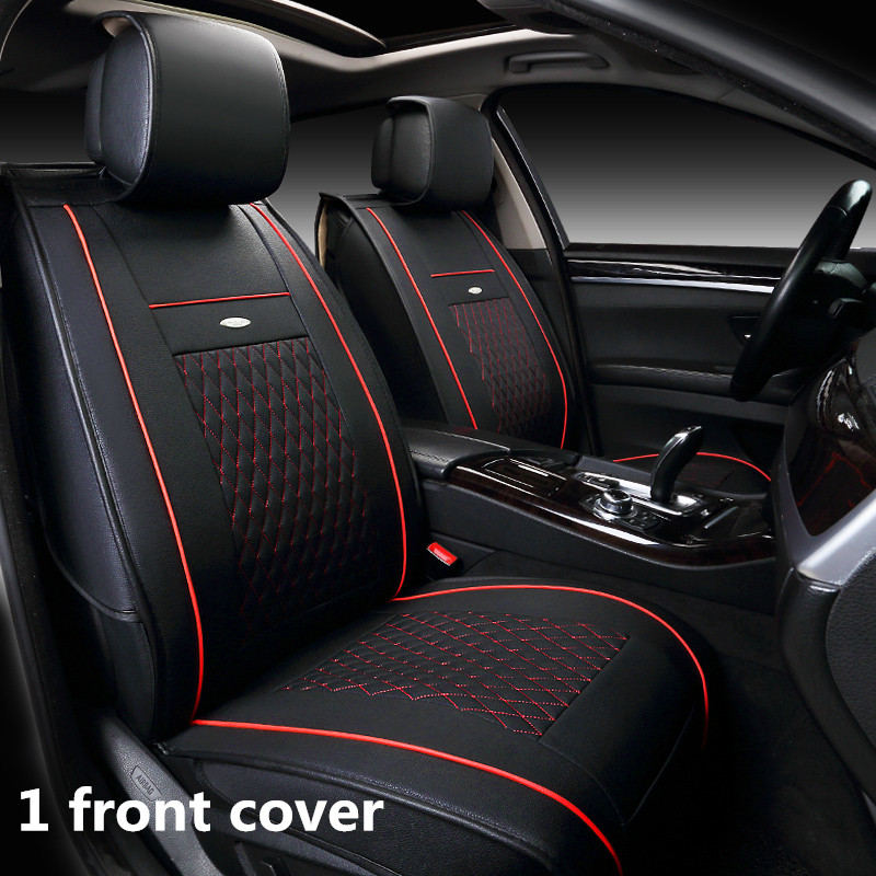 Customization Car Seat Cover General Cushion Artificial Leather Car pad Car Styling For Mazda 3/6/2 MX-5 CX-5 CX-7 Series customization car seat cover general cushion artificial leather car pad car styling for volkswagen beetle cc eos golf jetta pass