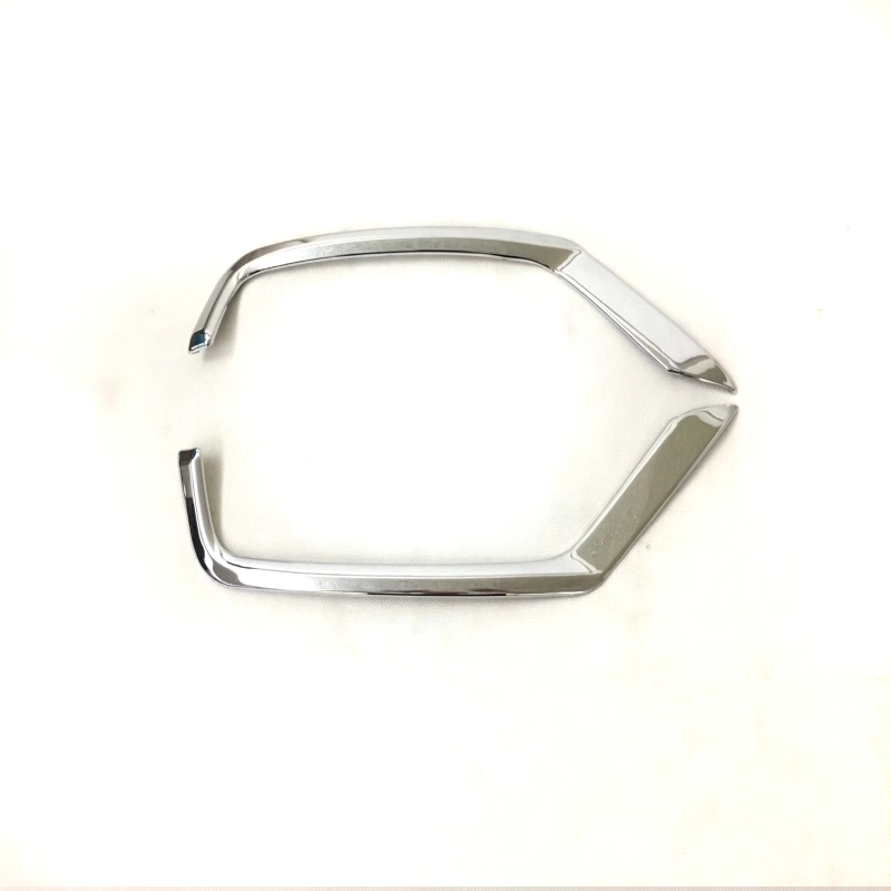 For <font><b>Mazda</b></font> CX-5 <font><b>CX5</b></font> 2017 <font><b>2018</b></font> ABS Chromium Styling Car Front Rear Fog Light Lamp Cover Trim Reflector Garnish Shade Frame image