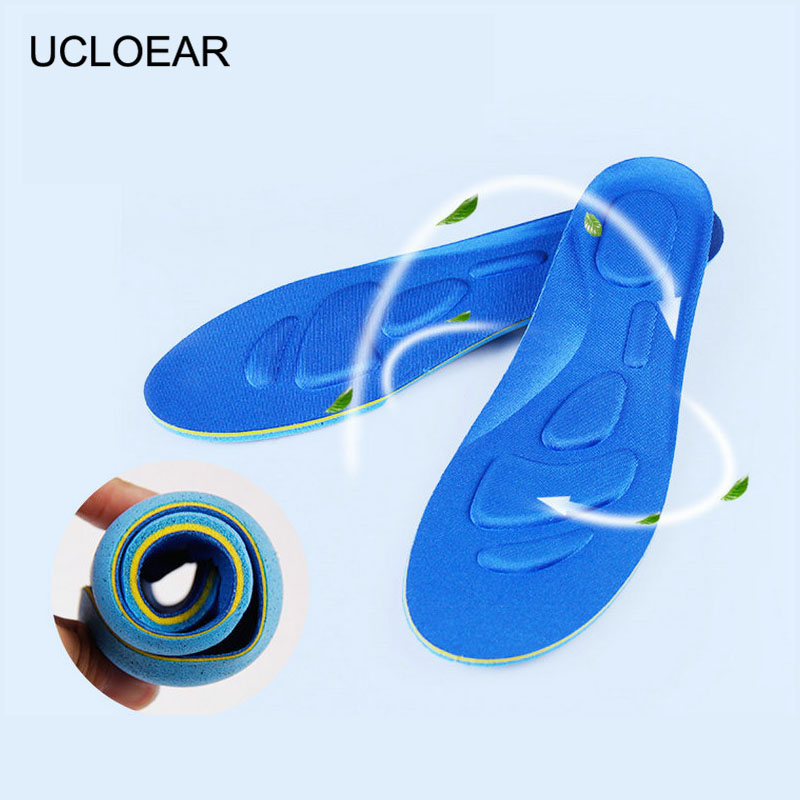 Unisex Free Size Insole Memory Foam Breathable Insoles Soft Comfortable Insole Thickening Memory Foam Shoes Pad Men Women XD-020 ultra soft memory foam pu sports insoles women or men shoes pad gel orthopedic thickened flatfoot absorb sweat military insoles
