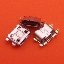 500 adet/grup portu şarj güç konnektör değiştirme jak soketi veri şarj tak Mini USB Motorola Moto G6 oyun XT1922