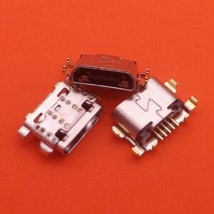 Image 1 - Разъем питания для зарядки 500 шт./лот, сменный разъем для зарядки с разъемом USB для Motorola Moto G6 Play XT1922
