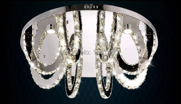 New luxury anelli di design soffitto rotondo led lampadario di