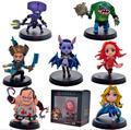 7 pçs/set rainha figura Kunkka Lina DOTA 2 Pudge dota2 Tidehunter centímetros FV PVC coleção figuras de ação brinquedos
