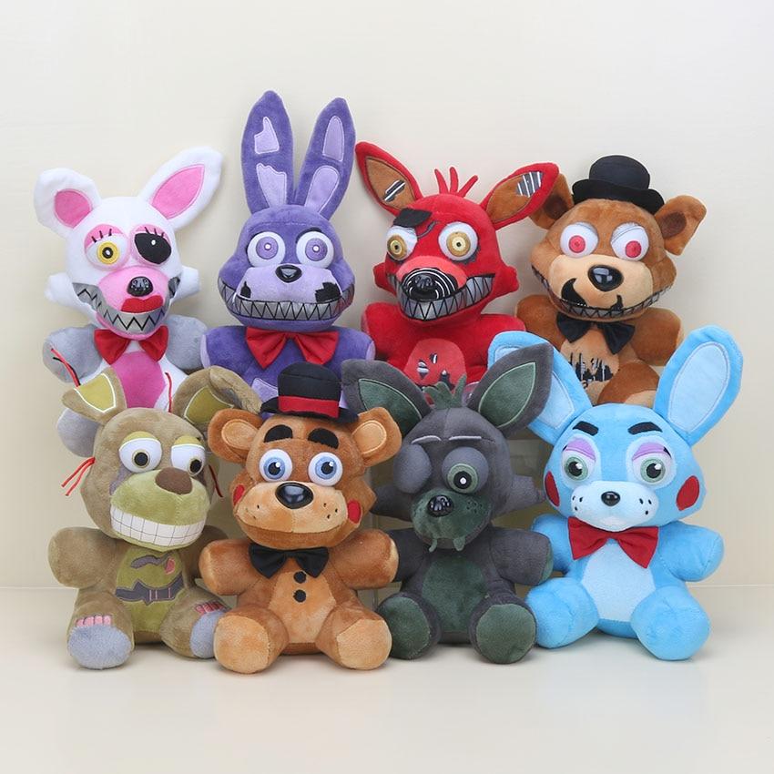 Koala Stuffed Animals Mini, 8pcs Set 14cm Fnaf Plush Toy Five Nights At Freddy S Nightmare Freddy Fazbear Mangle Bonnie Foxy Plush Stuffed Fnaf Doll Toys Fnaf Plush Toys Five Nightsfreddy Fazbear Aliexpress