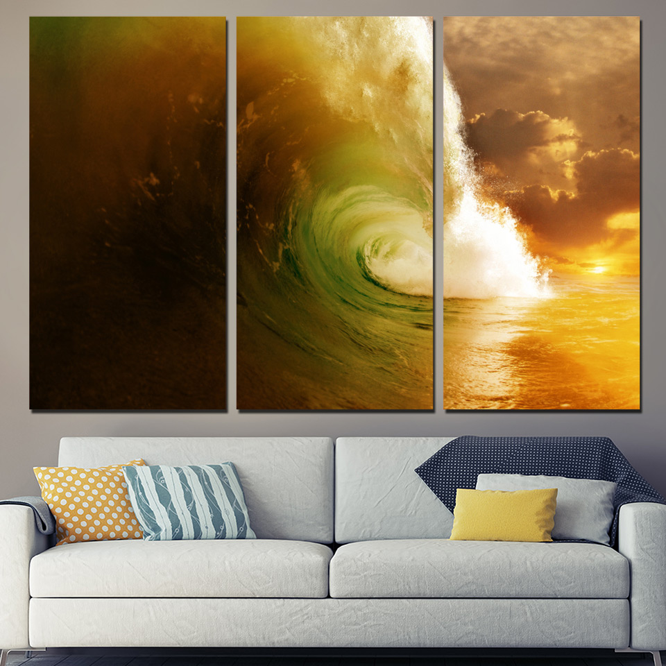 Awesome Whales And Waves Wall Decor Festooning - Art & Wall Decor ...