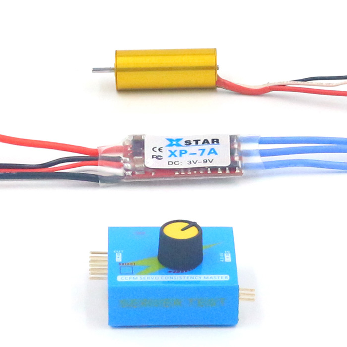 1PCS 1230 Brushless Motor 4300KV Motors with 7A 6A10A 12A Bidirectional/One Way ESC + Throttle for RC Car Modified Parts mystery bec esc for brushless motors 2601 60a fm60a 6 12v
