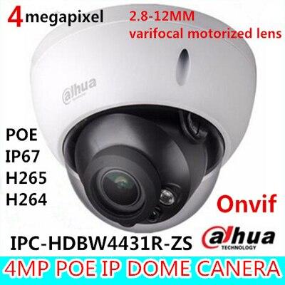 imágenes para Original dh-ipc-hdbw4431r-zs dahua ip cámara de $ number mp 2688*1520 reemplazo para ipc-hdbw4300r-z apoyo poe varifocal lente motorizado