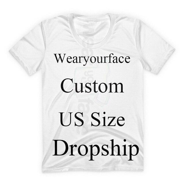 e6e4bf737 Camisetas estampadas en 3D tamaño de EE. UU. personalizadas estilo de calle  de verano