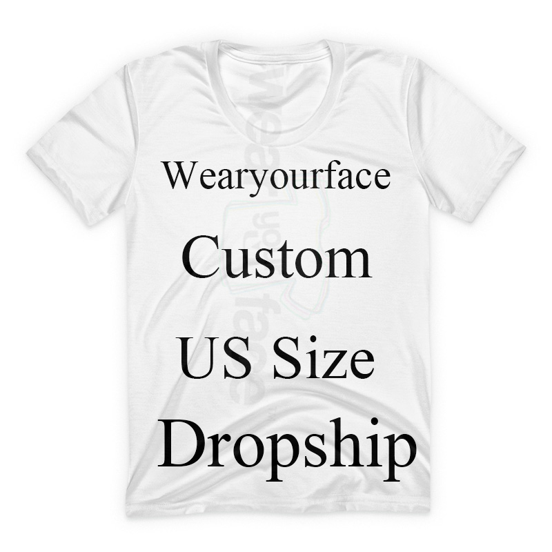 Custom Dropship US Size 3D All Over Print Pullover Hoodies