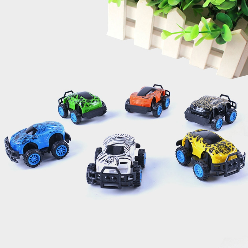 3 Styles Color Random Mini Diecast SUV Car Toy Construction Vehicle Toy Car Model Set Bi ...