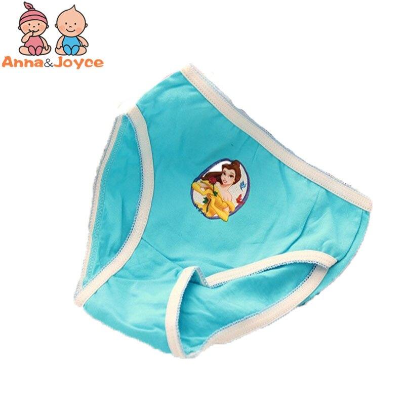 12pcs lot baby Girls cartoon designs underwears children cotton short pants Kids panties atnn0002
