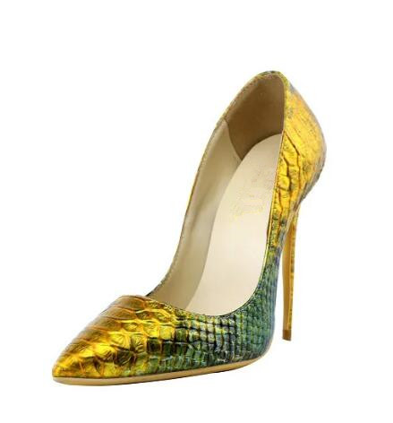 New Hot 2018 Dipsloot Snakeskin Slip-on High Heels Wedding Shoes Dress Shoes For Ladies Sexy Pointed Toe Shallow Woman Pumps sexy brand stiletto heel shoes woman high heels pointed toe 12mm brown leather pumps fenty beauty slip on shallow wedding shoes
