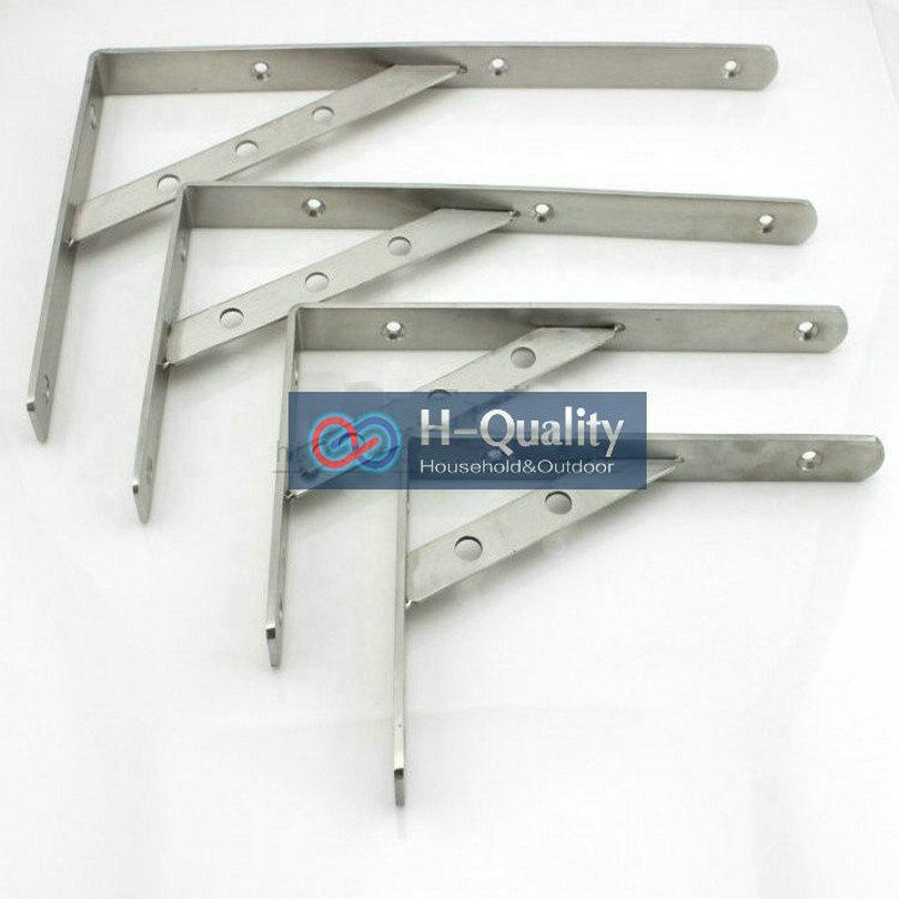 200X350MM AISI304 Stainless Steel Shelf Holder Bracket, Triangular Commodity Shelf, Wall Shelf, Shelf Supporting Frame