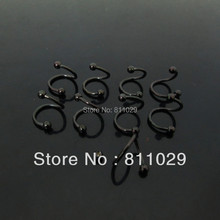 Hot Fashion Charm 16G plated 3mm 30pcs 316L surgical Stainless Steel twister piercing body jewelry free shipping(China (Mainland))