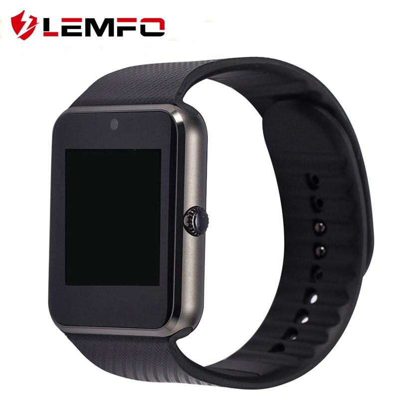 GT08 Bluetooth font b Smart b font font b Watch b font Support SIM TF Card