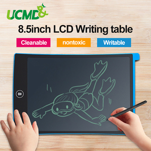 Office LCD Writing Tablet 8.5 inch Digital Kids Graphics Drawing Handwriting Message Board Electronic Notepad Children Gifts Toy(China)